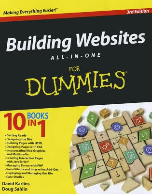 Building Websites All-in-One for Dummies By Karlins, David